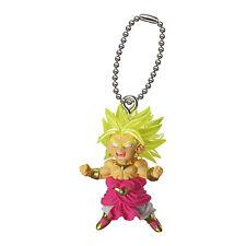 Dragon Ball Z DBZ Super Saiyan BROLY Figure Keychain Ring Gashapon Capsule