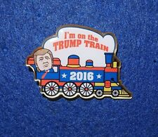 Trump I'm On the Trump Train 2016 Presidential Campaign Election Pin Jewelry