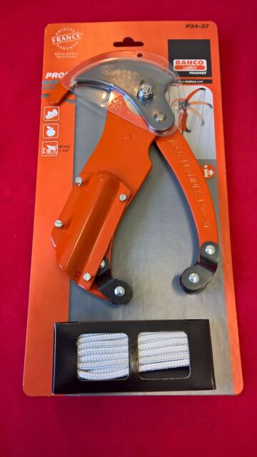 Bahco P34-37 30mm Pole Top Pruner, Triple Pulley - Fits  Most Poles
