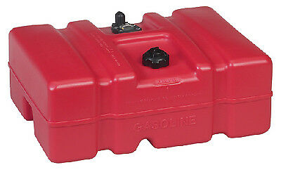 Fuel Tank 12 Gallon Topside Low Profile 24.3 x 18.1 x 10.75 Moeller 630013LP