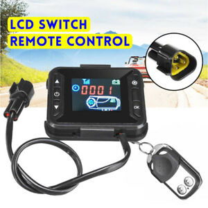 Car-Air-Diesel-Heater-Parking-LED-Display-Remote-Controller-Monitor-Switch-12V