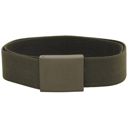ORIGINALE esercito tedesco Pantaloni Cintura Oliva Larghezza 5 CM 100-150 cm BW campo CINTURONE TG