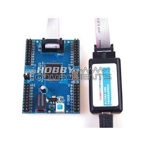 Altera-FPGA-CPLD-programmer-USB-Blaster-compatible-LC-MAXII-EPM240-Dev-Board