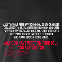 A Jury Of Your Peers Have Found You Guilty Of Murder Naked Retro Funny T-shirt