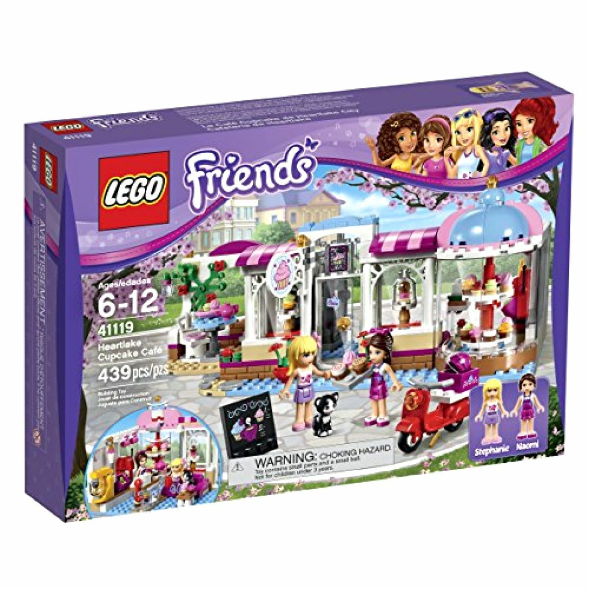 LEGO Friends Heartlake Cupcake Cafe 41119 Building Set New Kids Toy Box NISB Kit