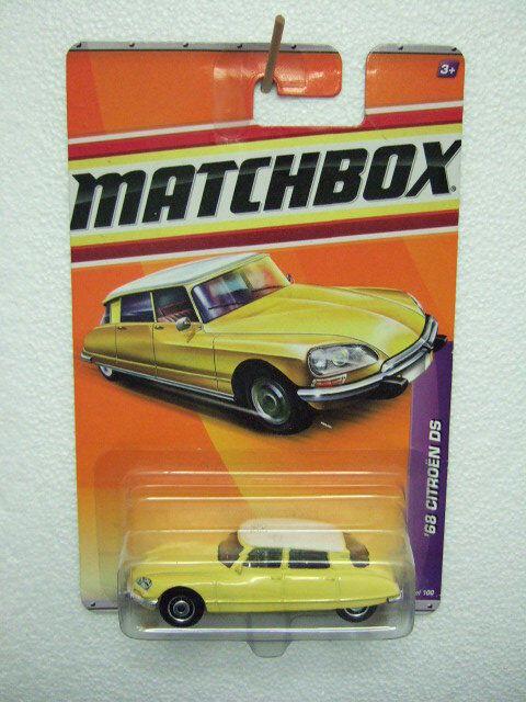 MATCHBOX RARE pre mb21 CITROEN DS 1968 FEP on card