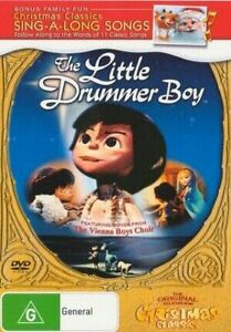The Little Drummer Boy DVD CHRISTMAS TV MOVIES SING-A-LONG SONGS BRAND NEW R4 | eBay