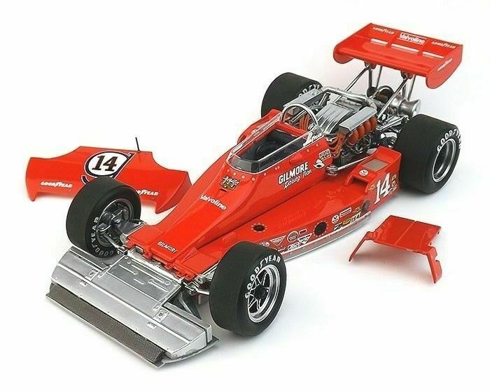 1 18 Coyote Ford Gilmore A J Foyt race car 1974 Indy 500 Pole Winner Replicarz