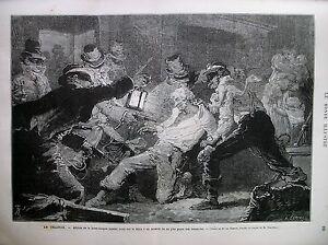 IRLANDE-AFFILIES-DE-LA-LANDE-LEAGUE-MENACE-ET-SERMENT-FERMIER-GRAVURES-1881
