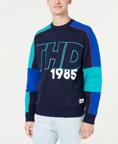 MSRP $99 Tommy Hilfiger Men/'s Boris Colorblocked Sweatshirt Size XXL