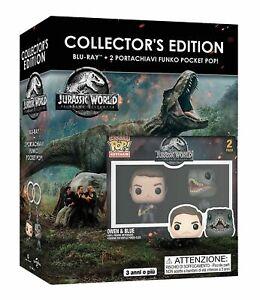 Jurassic-World-Il-Regno-Distrutto-Blu-Ray-2-Funko-Pocket-Pop-Nuovo