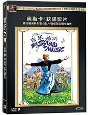 The Sound of Music All Region DVD Julie Andrews, Christopher Plummer  NEW UK R2