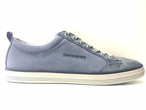 SCARPE-SNEAKERS-CASUAL-UOMO-SAMSONITE-SFM102158-1021-PELLE-ORIGINALE-PE-NEW