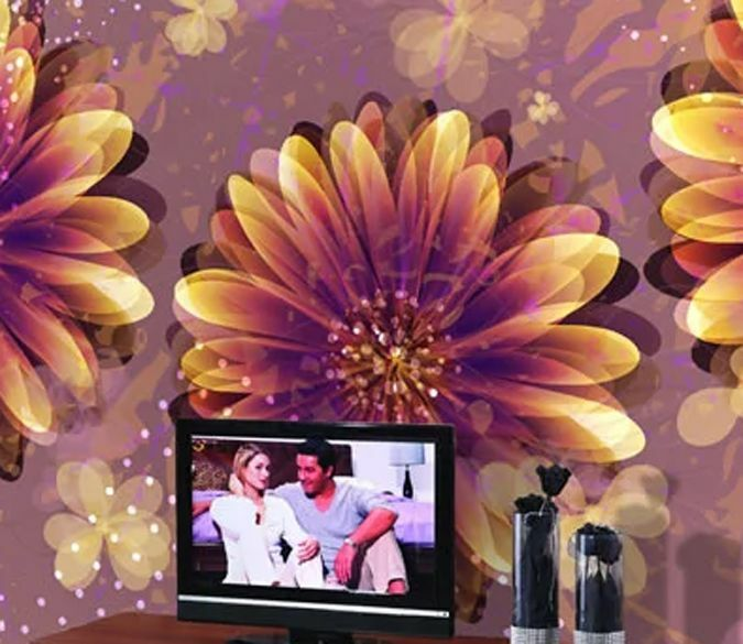 3D Retro flower 13240 Paper Wall Print Decal Wall Wall Murals AJ WALLPAPER GB