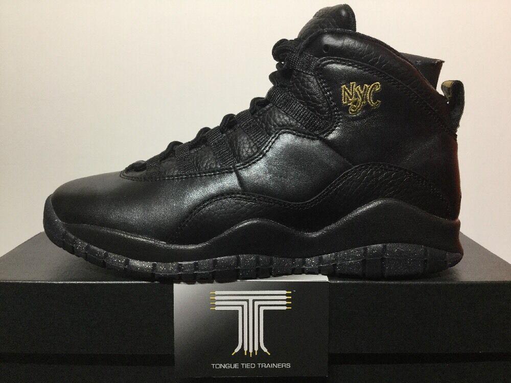 Nike air jordan 10 retro nyc bg ~ 310806 Chaussures 012 ~ taille  Chaussures 310806 de sport pour hommes et femmes b4d50d