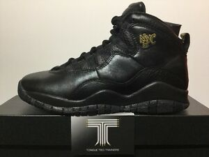 online store 521f1 6f7d5 Image is loading Nike-Air-Jordan-10-Retro-NYC-BG-310806-