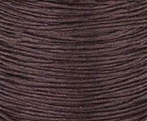 1mm waxed cotton cord knotting cord By the Yard  Choose Color and length