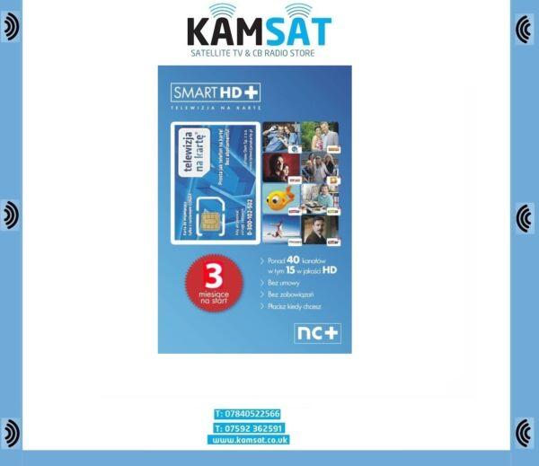 Vertrouwend Telewizja Na Karte Smart Hd Nc+ Doladowanie 3 Miesiace Cyfrowy Polsat Tvn Hoog Gepolijst