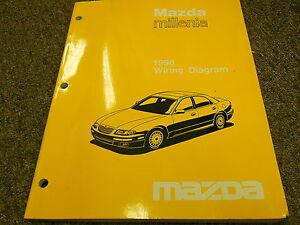 1996 Mazda Millenia Electrical Wiring Diagram Manual ...
