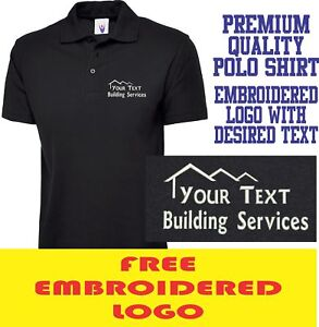 JOINER BUILDER BUSINESS PERSONALISED LOGO T POLO SHIRT