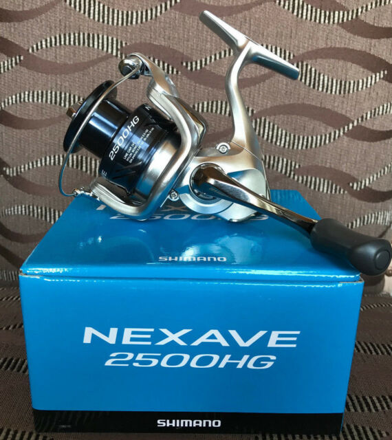 Shimano 18 NEXAVE Spinning Fishing Reel 1000 2500HG C3000HG 4000HG C5000H 8000