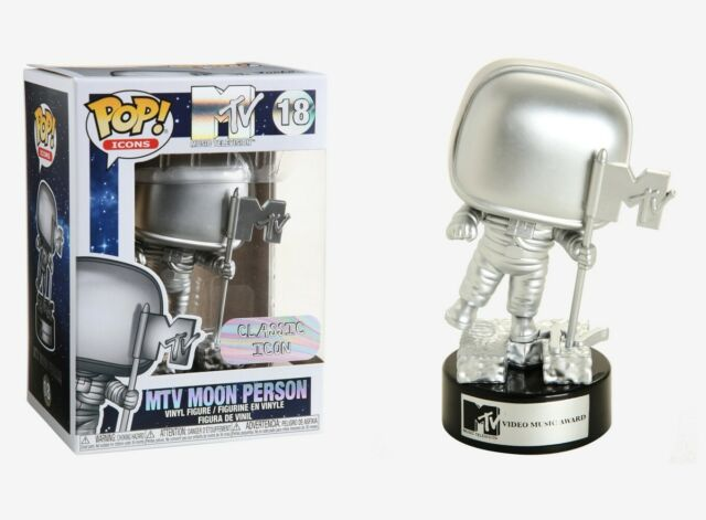 Funko Pop icone music television MTV Moon Man Figura in vinile #18