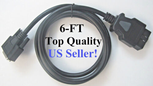 6FT OTC 3825-32 Pegisys MVCI Replacement OBD2 OBDII Main Cable Connector plug