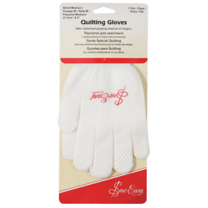 Small//Medium By Sew Easy Premium Quilter/'s Gloves
