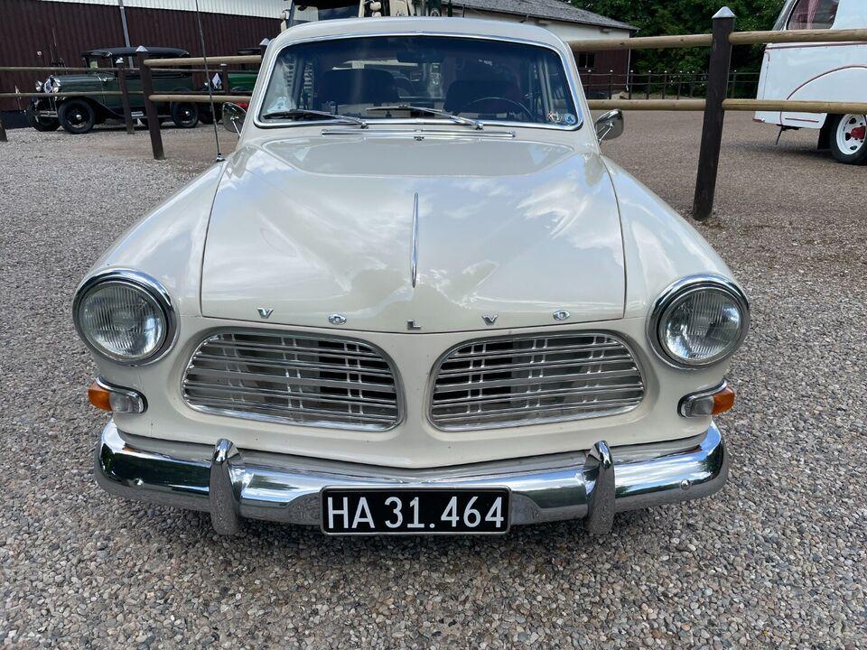 Volvo 121 1,8 Amazon Benzin modelår 1967 km 0 Hvid