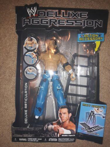 WWE WWF Deluxe agression Matt Hardy Wrestling Figure