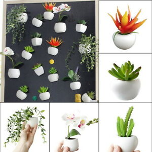 Fridge-Magnets-Refrigerator-Decal-Magnetic-Sticker-Artificial-Plant-Flower-GIFT