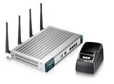 ZyXEL UAG2100 Hotspot Hotel Wireless Router Acces Point Gateway+ Printer SP350E