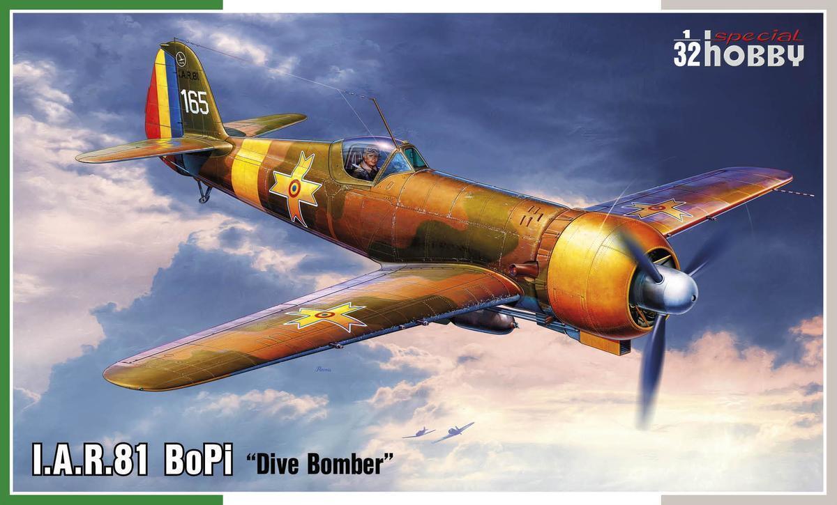 Special Hobby 32073 IAR-81 BoPi 1 32 32 32 Modellbau Flugzeug Dive Bomber cc60e4