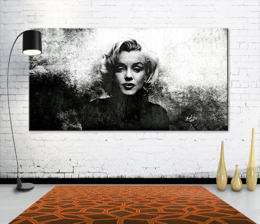 Image sur toile Marilyn Monroe Abstrait art la fresque art pression XXL 198 A