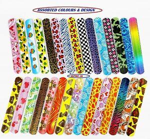 Slap Bands,Slap Bracelets Fun and Super Slap Wrist Bands party bag filler UK