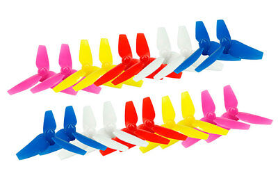 3blade 10pairs Drone 48mm Propeller Kingkong 1mm LADRC Racing Props FPVTiny8X
