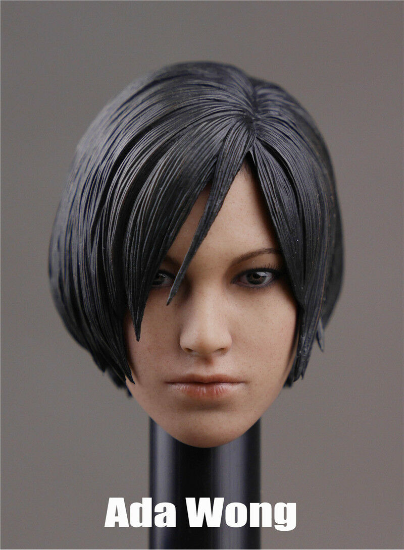 Onesixth 1 6 scale scale scale Head Sculpt For Ada Wong Resident Evil Female 52ec70