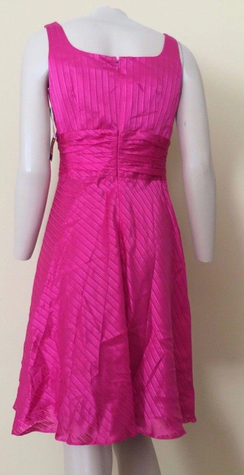 women Morgan Watermelon Brooch Silk Dress Petite 6P 6P 6P f94915