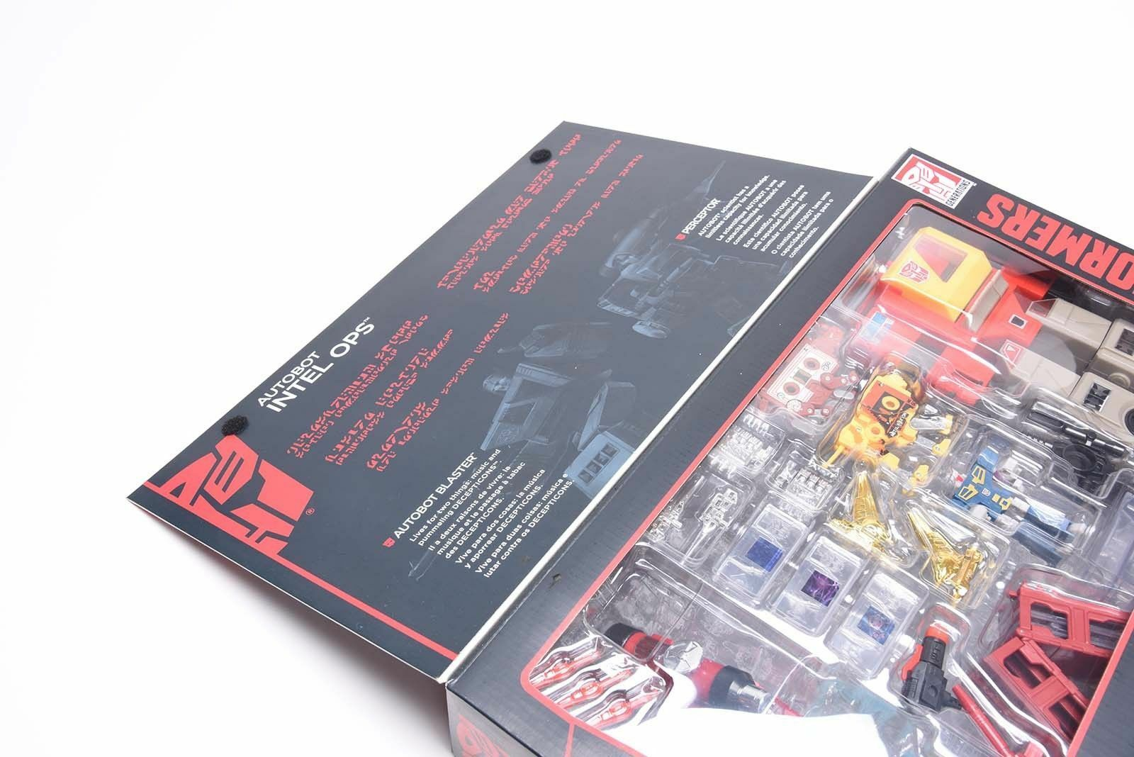 BLASTER & PERCEPTOR Transformers G1 Platinum Edition Autobots Inter Ops