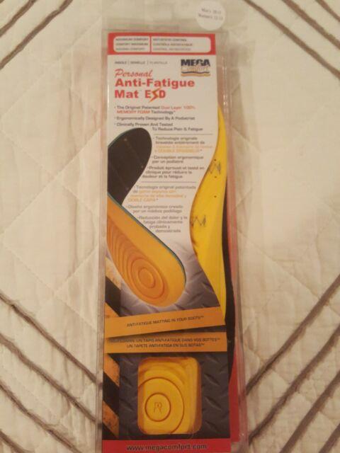 Original Dual Layer Men PAM Insoles MEGAComfort Personal Anti-Fatigue Mat