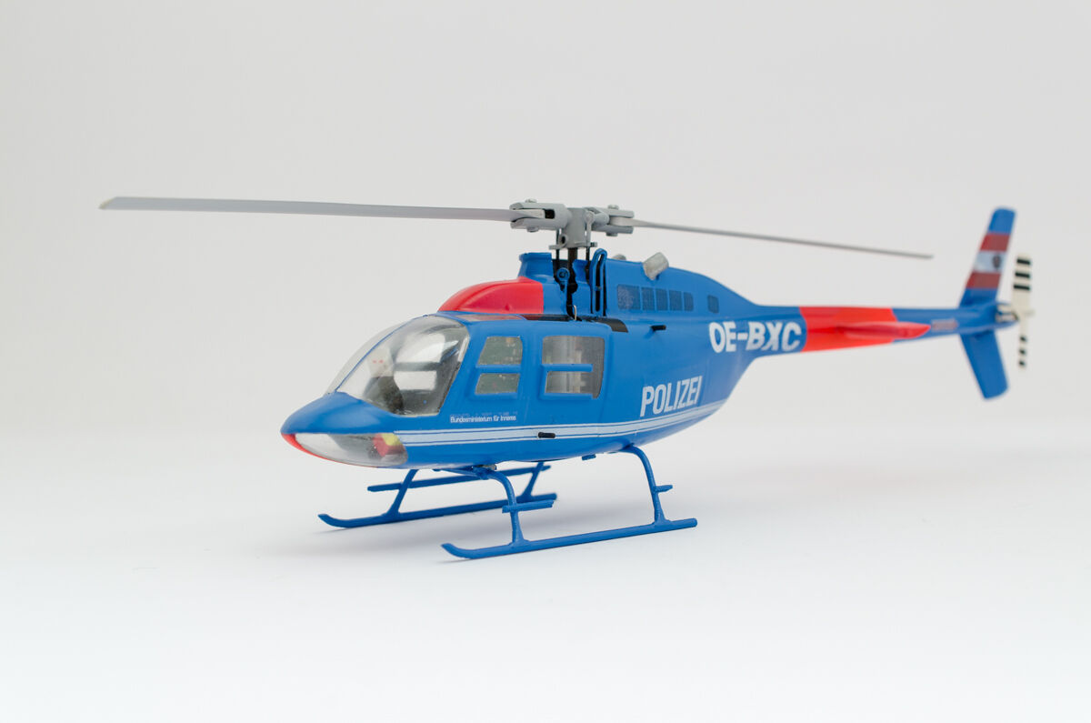 Rumpf-Bausatz Bell 206 Jet Ranger (Kanada) 1 1 1 32 für Blade mCPX   BL und andere e7f341