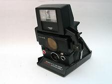 TOSHIBA P-25 Electronic Flash Blitz for Polaroid SX-70 folding Land Camera WORKS