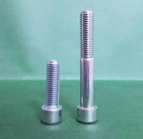 Innensechskantschrauben Zylinderschrauben 8.8 DIN 912 galvanisch verzinkt M6