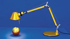 ARTEMIDE TOLOMEO MICRO LAMP. DA TAVOLO GOLD AS11860A ORIGINALE..