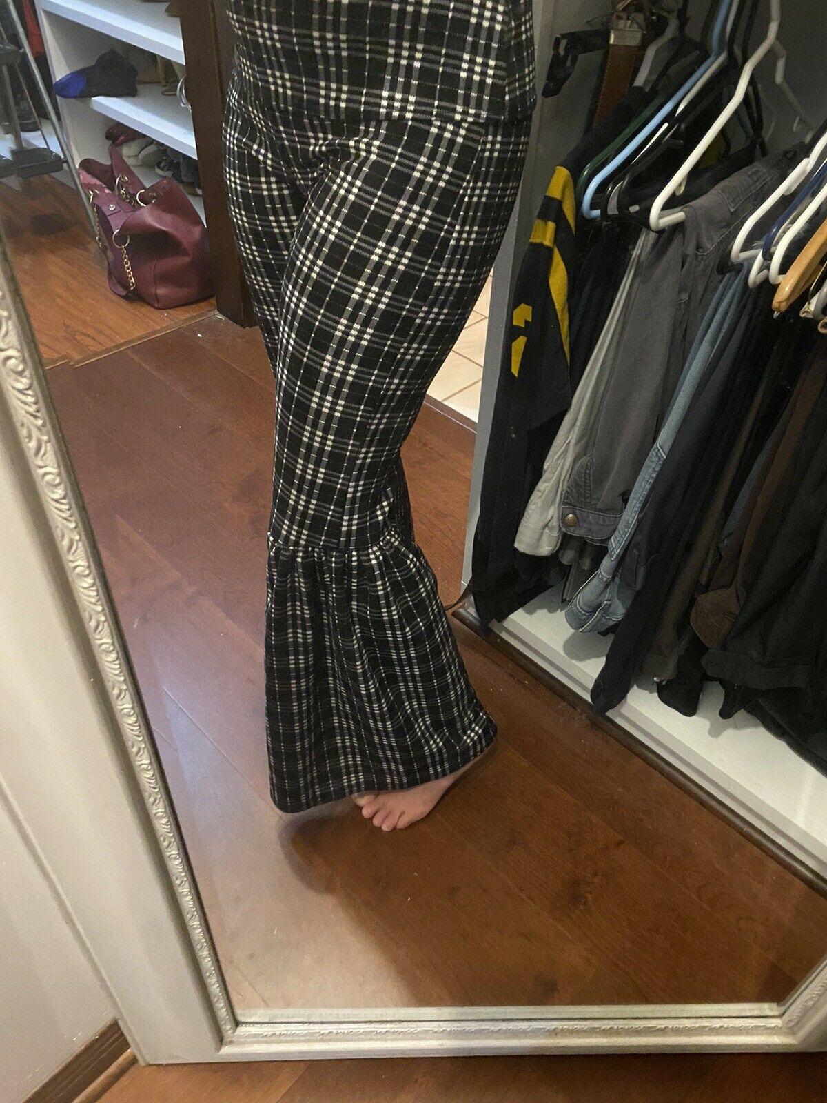 Vamp Pant Suit Two Piece Bell Bottoms - image 10