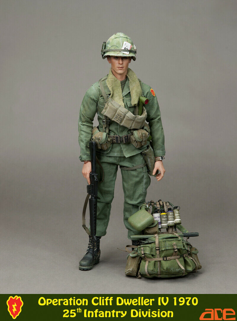 1 6 Scale ace 13019 Operation Cliff Dweller IV1970  25th Infantry Vietnam war