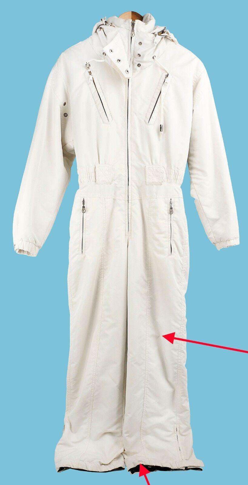 Vintage Womens Metropolis Hooded Snow Ski Suit Size 6 Hong Kong