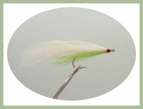 Size 2//0 6 Pack Mixed Colour Deceivers Bass Fishing Flies Fly Fishing,