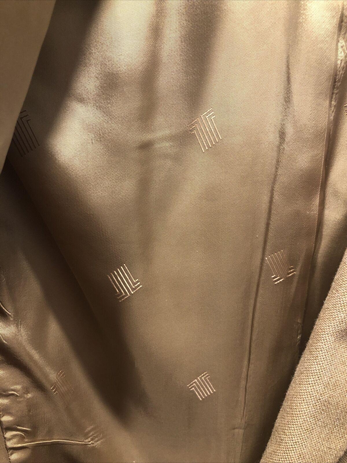 Vintage Lanvin Linen Blazer jacket Men's 42s  197… - image 7