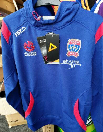 Newcastle Jets Game Day Hoodie Jumper Large A League Football Soccer Jersey
